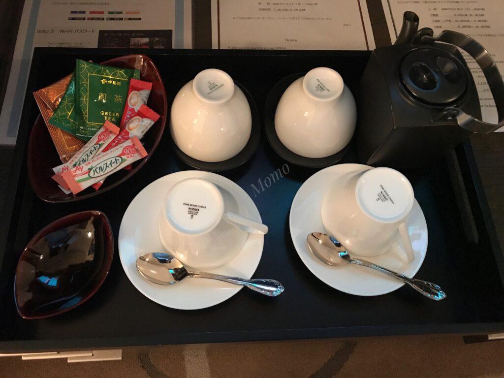グランドプリンス新高輪 コーヒー お茶