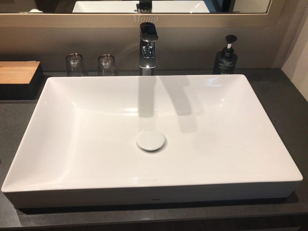 ノーガホテル上野 ブログ 洗面台