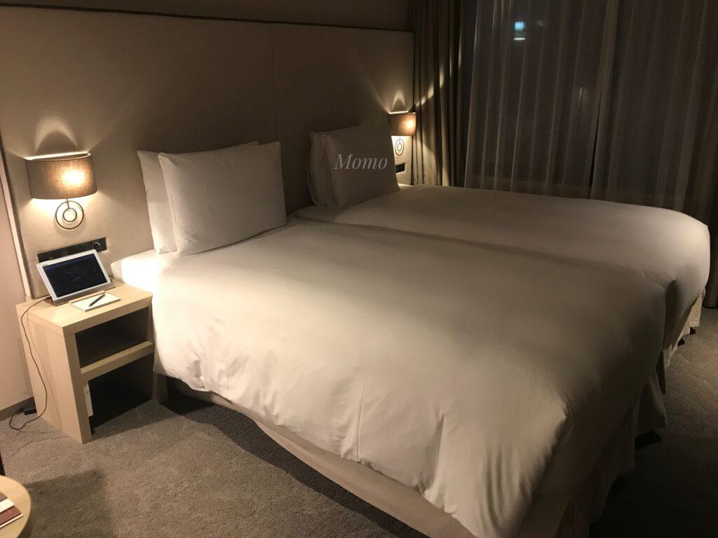 ノーガホテル上野 ツインルーム ブログ