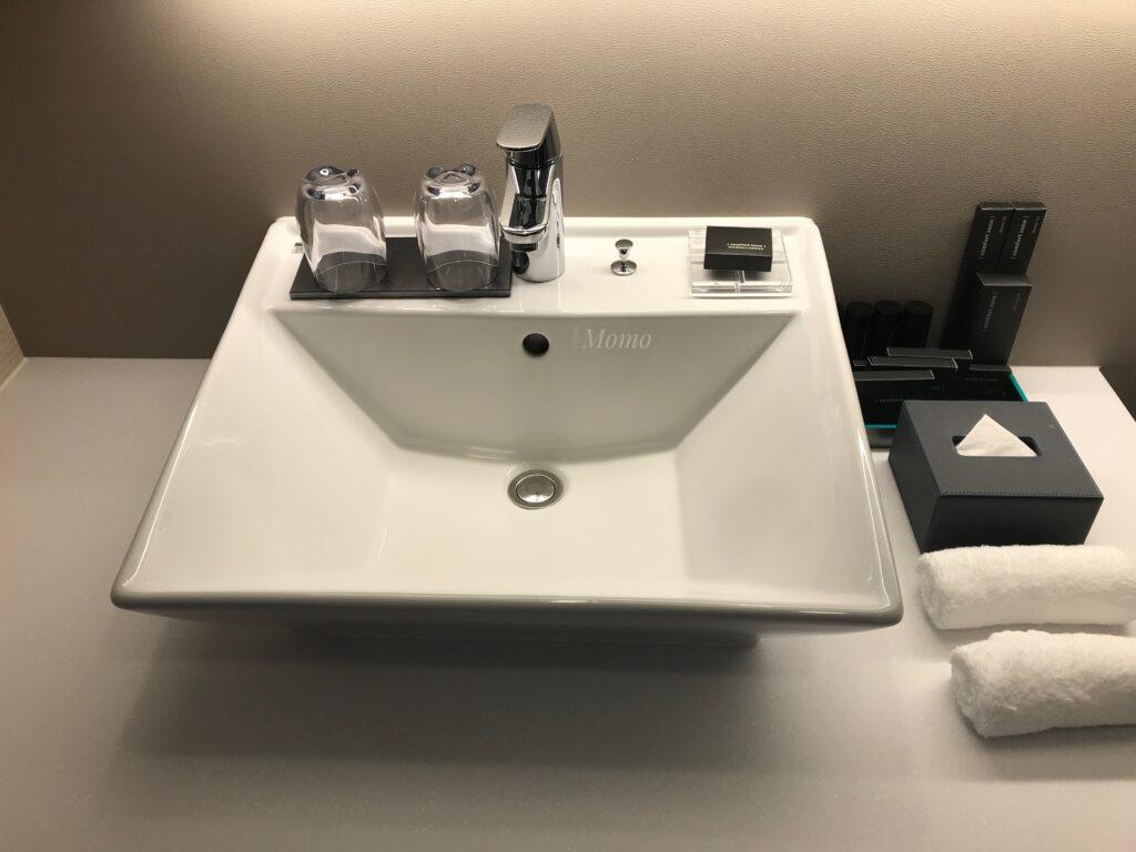 オークウッドスイーツ横浜 洗面台