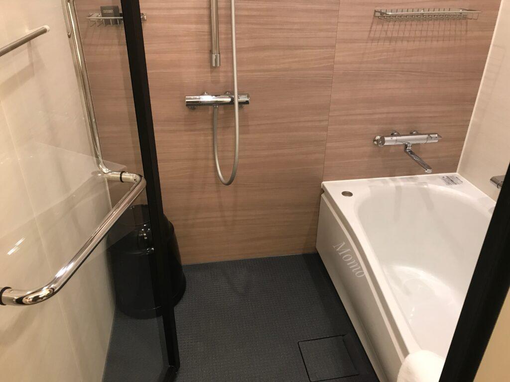 オークウッドスイーツ横浜 浴室