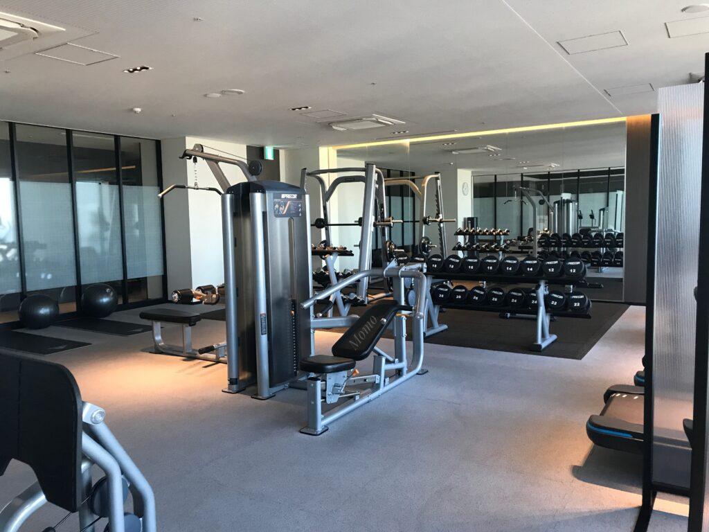 オークウッドスイーツ横浜 ジム トレーニングルーム