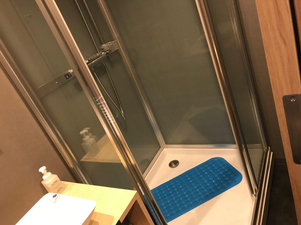 WBF 函館 シャワー 温泉