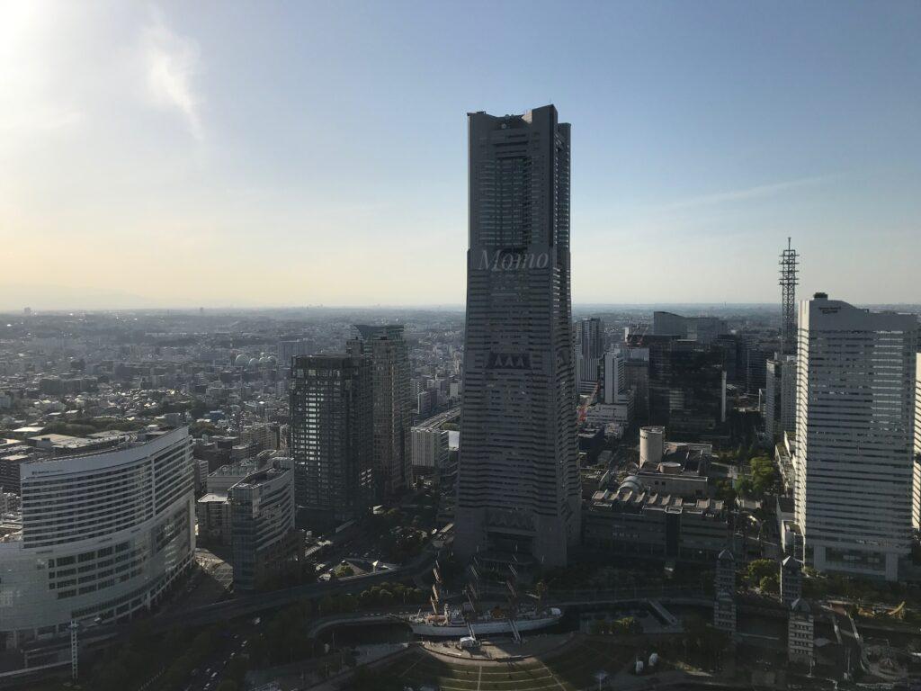 オークウッドスイーツ横浜 シティービュー 景色