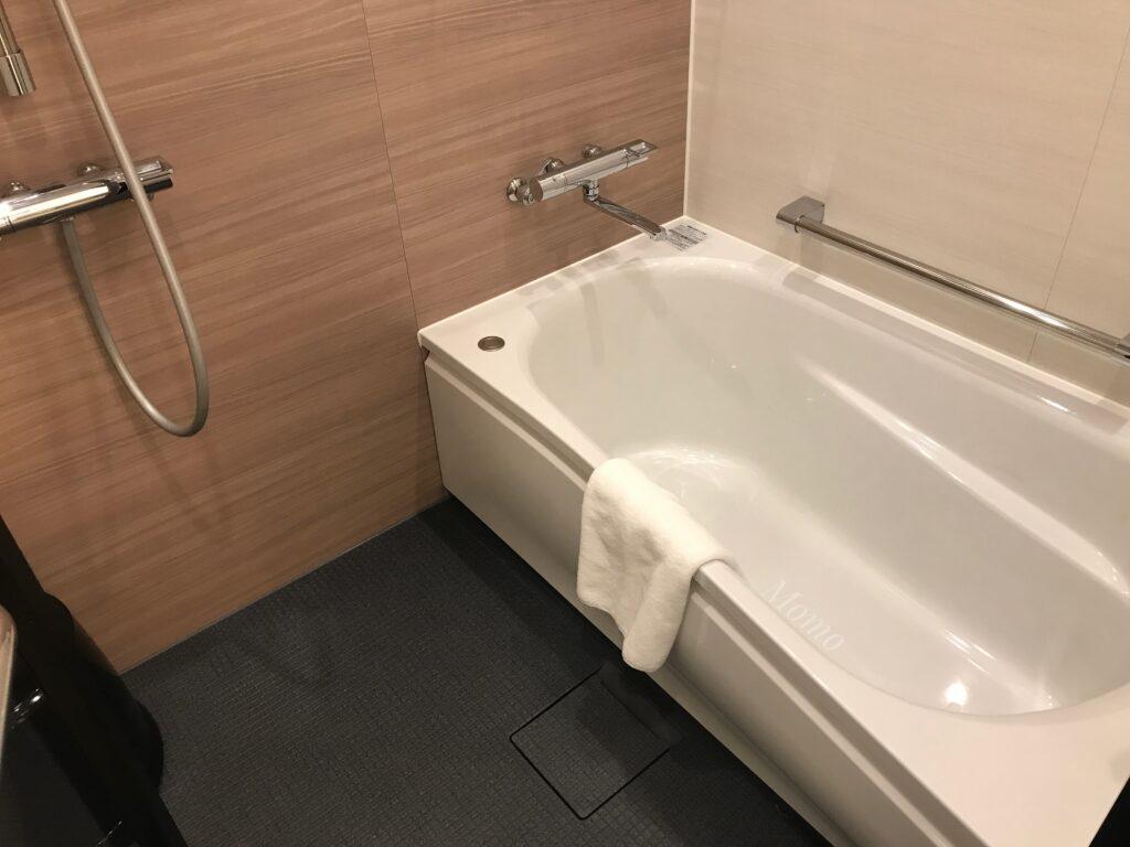オークウッドスイーツ横浜 浴室 ブログ