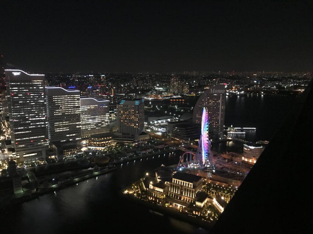 オークウッドスイーツ横浜 シティービュー 夜景