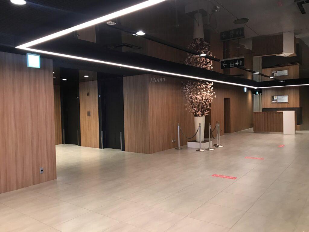 新宿プリンスホテル チェックイン