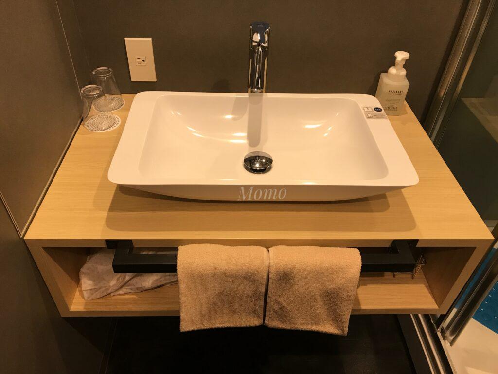 WBF 函館 洗面台