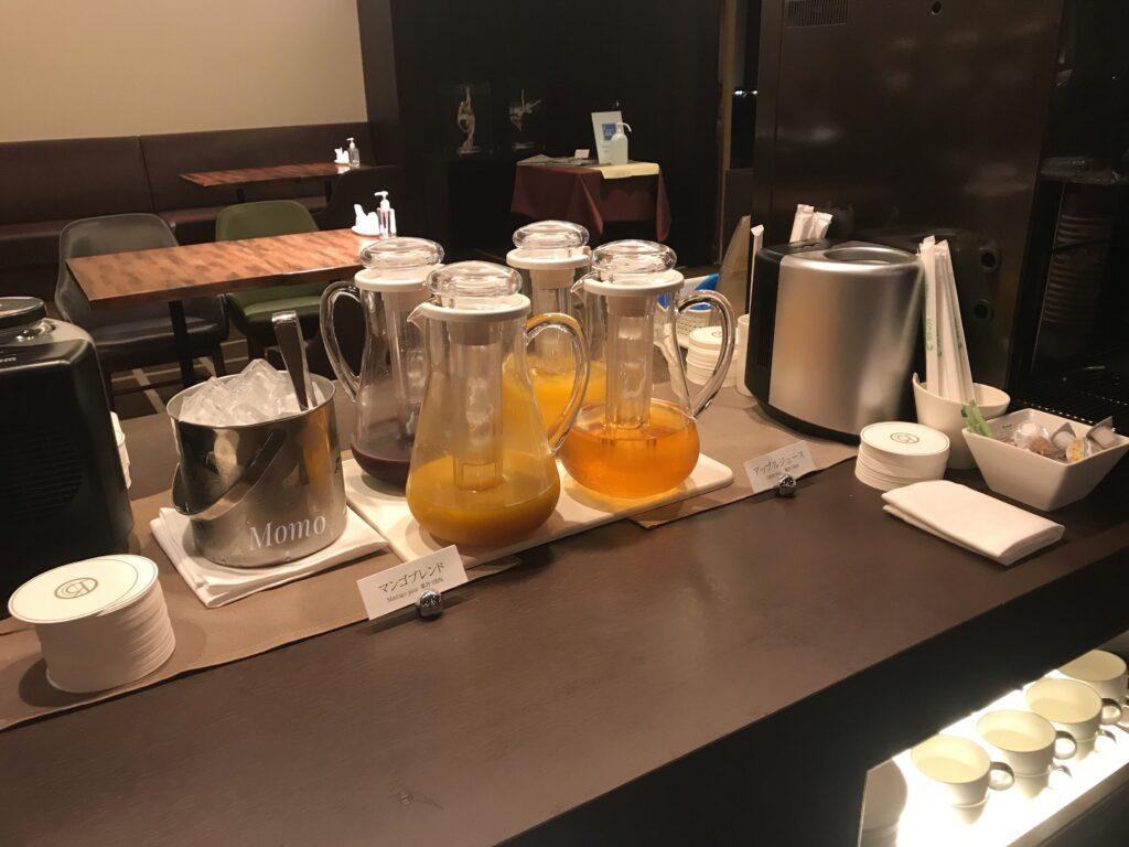 ロイヤルパークホテル高松 ラウンジ ソフトドリンク