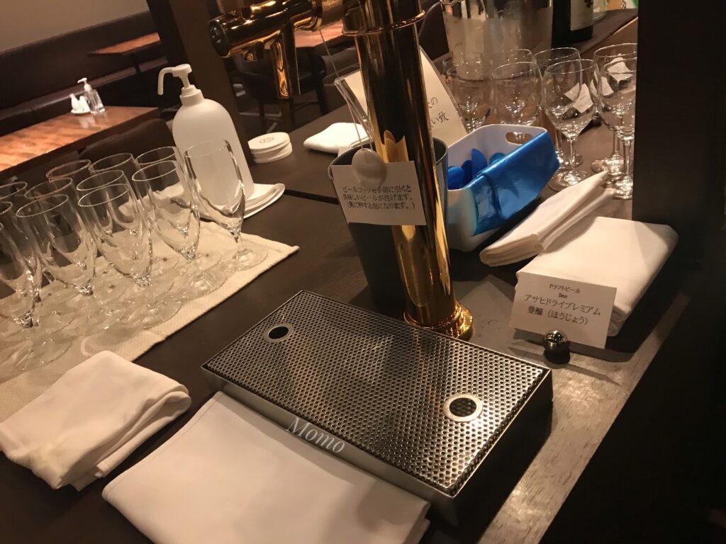ロイヤルパークホテル高松 ラウンジ ビールサーバー