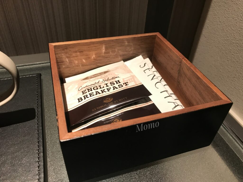 ACホテルバイマリオット東京銀座 紅茶 コーヒー