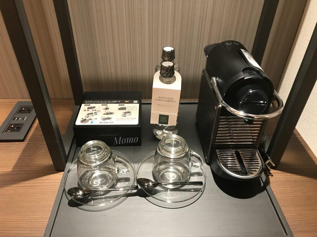 ACホテルバイマリオット東京銀座 コーヒー