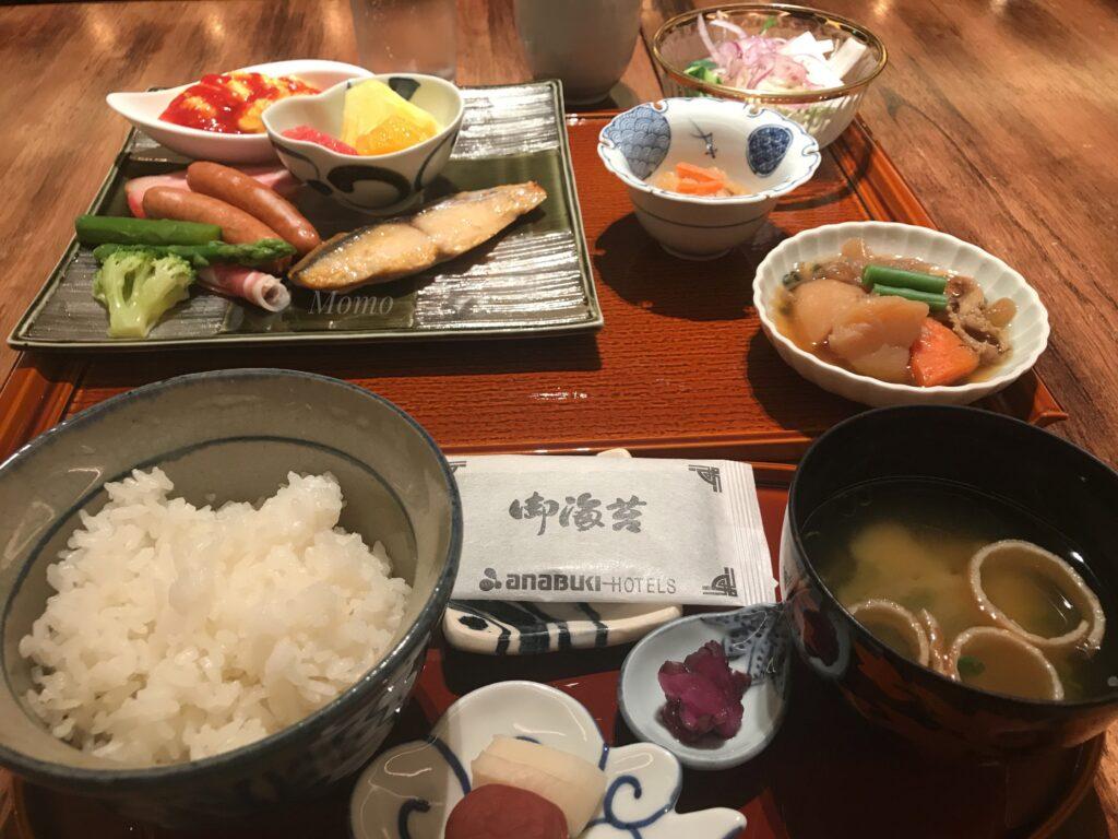 ロイヤルパークホテル高松 朝食 ブログ