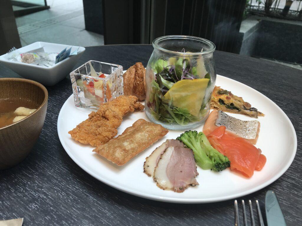 ACホテルバイマリオット東京銀座 朝食 ブログ