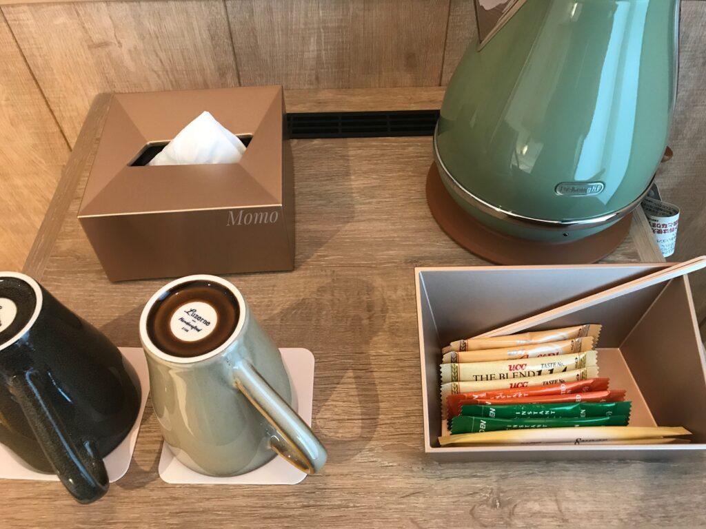 モクシー京都二条 お茶 コーヒー