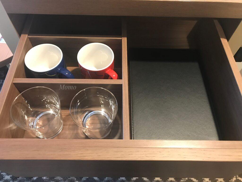 ザロイヤルパークキャンバス京都二条 コップ
