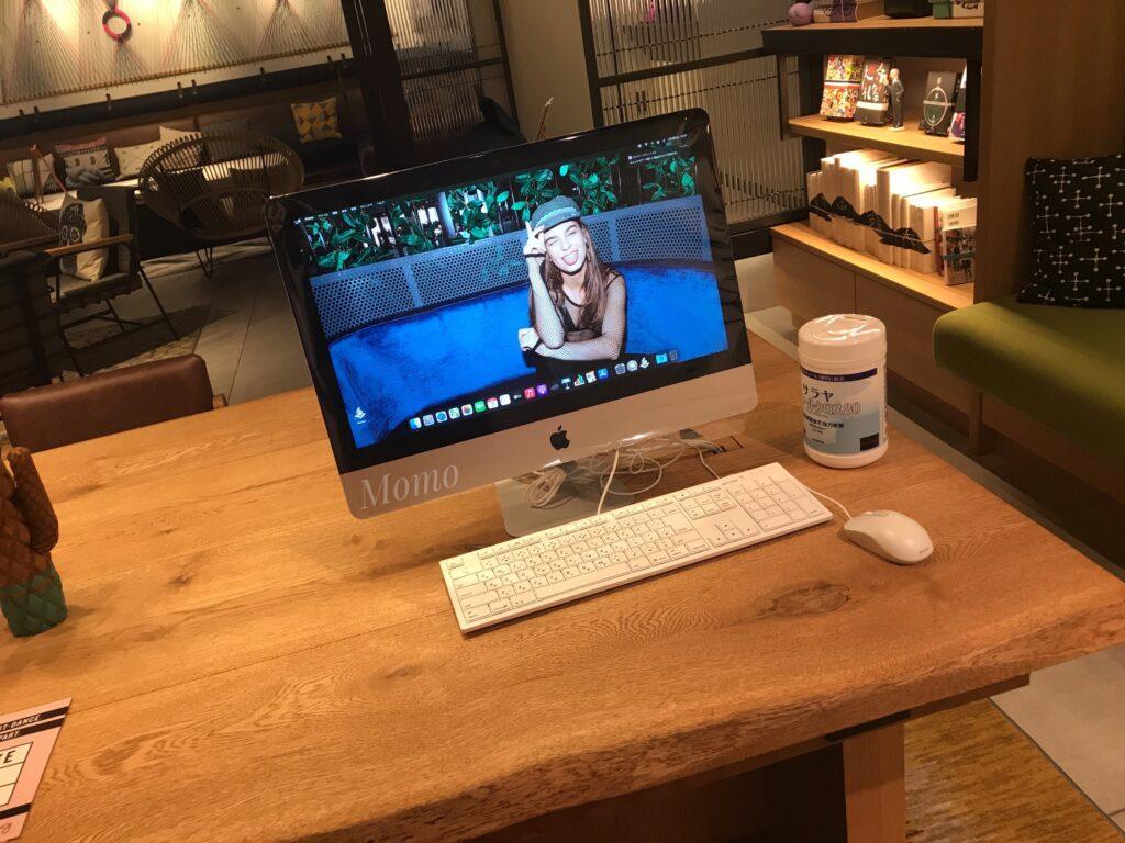 モクシー京都二条 パソコン 作業