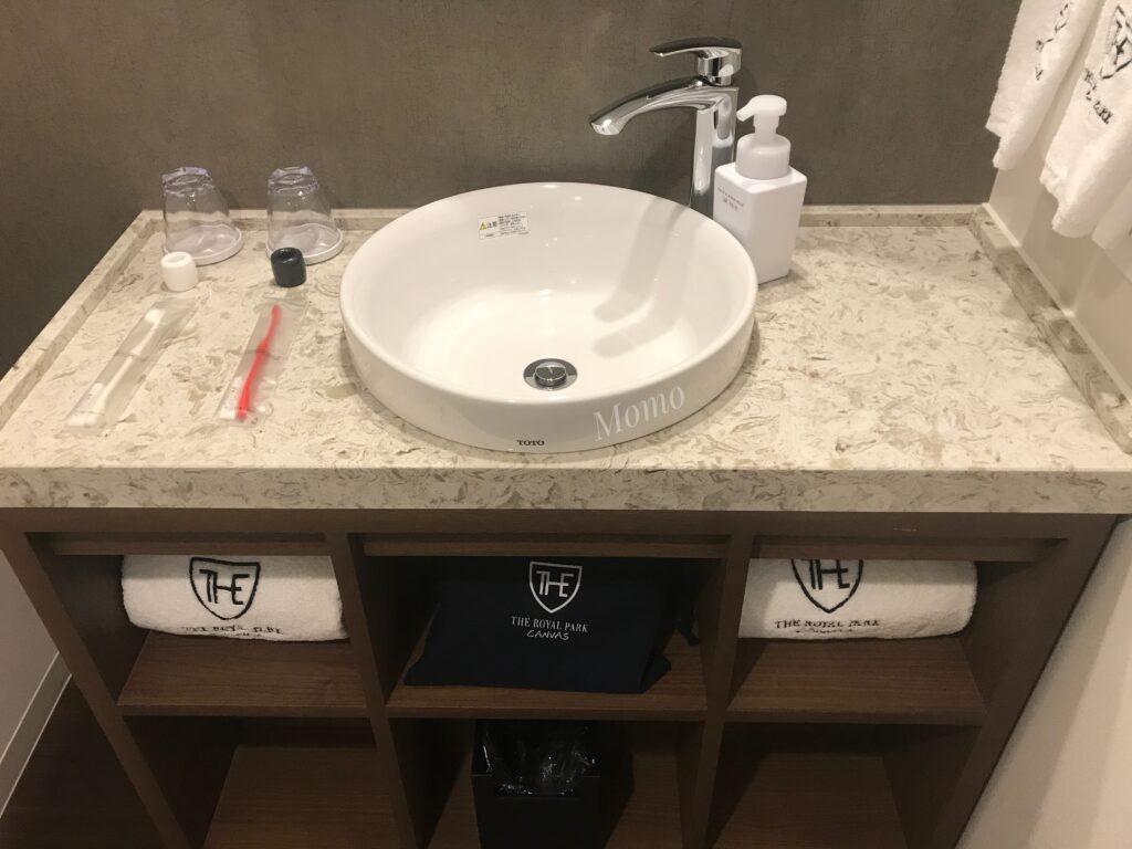 ロイヤルパークキャンバス京都二条 洗面台 ブログ
