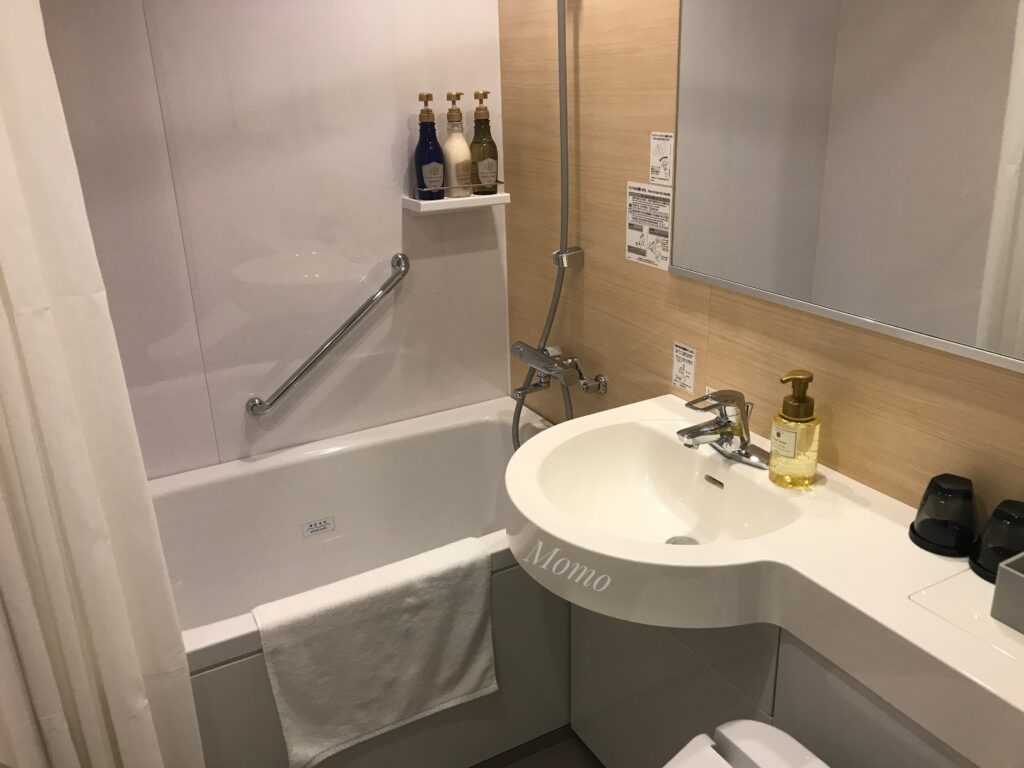 レフ京都byベッセルホテルズ バスルーム 浴室