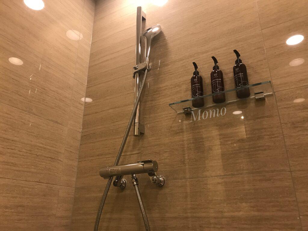 ザロイヤルパークキャンバス京都二条 シャワー