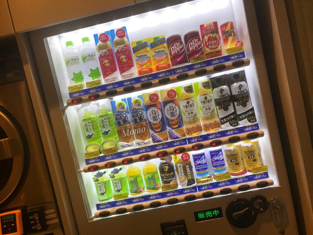 トグルホテル 自動販売機