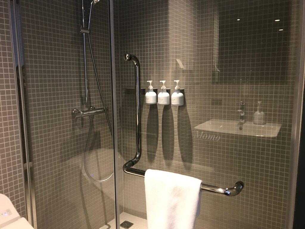 DDDホテル 浴室 シャワー