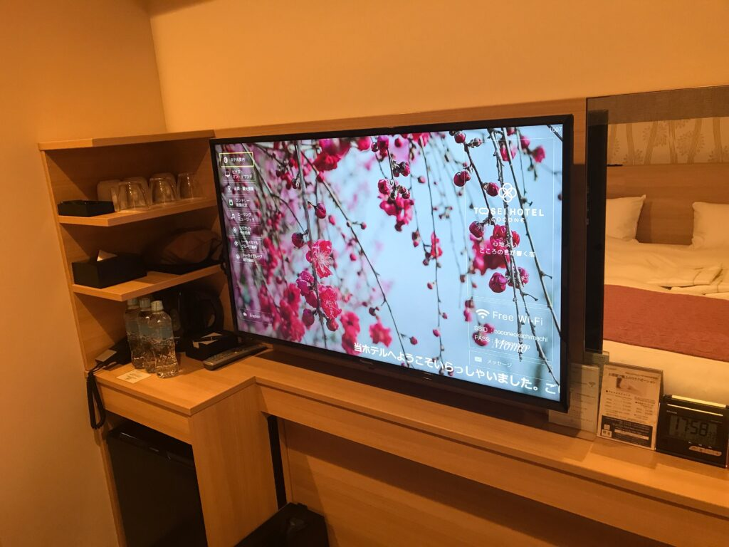 トーセイホテルココネ テレビ