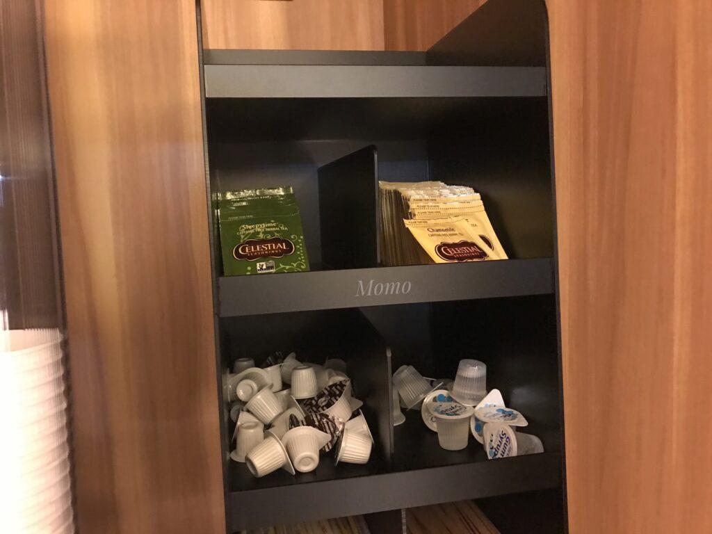トーセイホテルココネ お茶 サービス