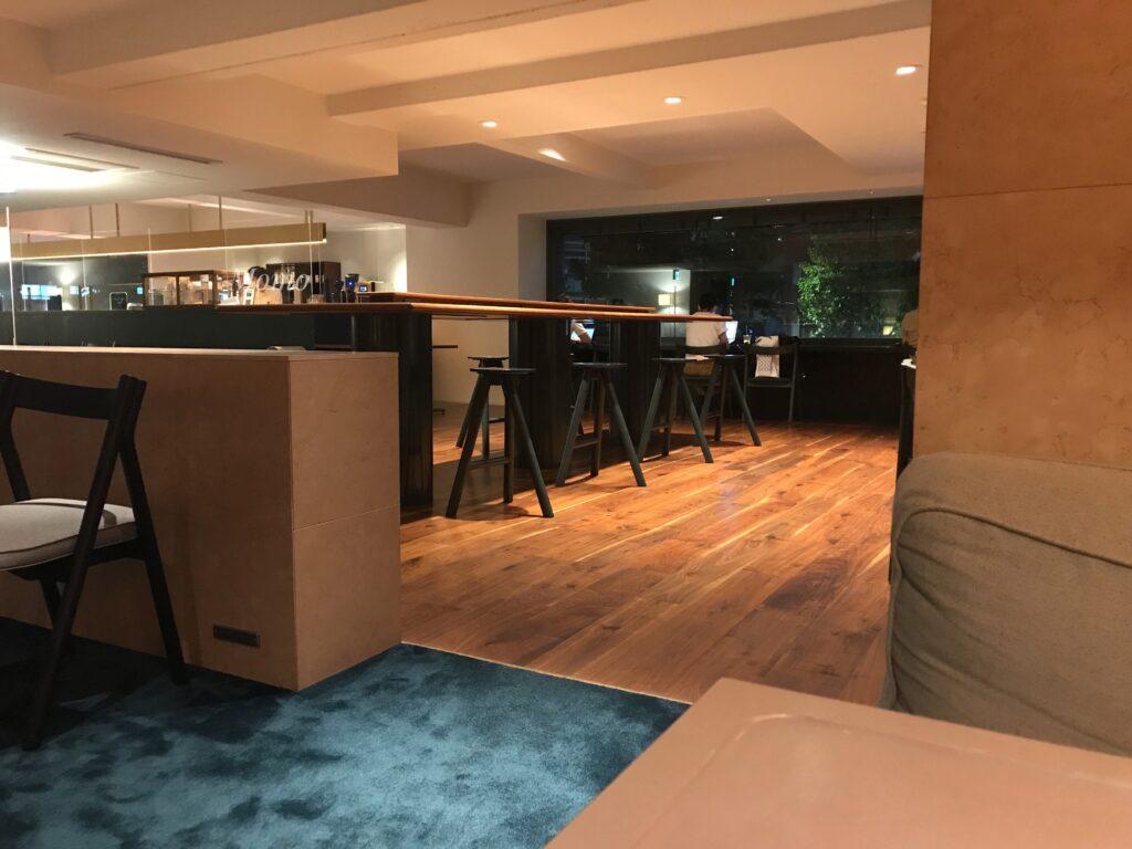 DDD HOTEL カフェ ブログ