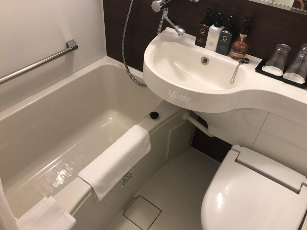 トーセイホテルココネ上野御徒町 お風呂 浴室
