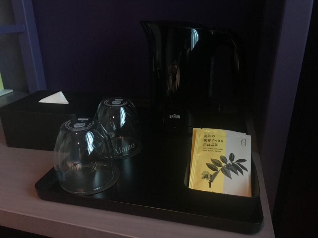 トグルホテル アメニティ お茶