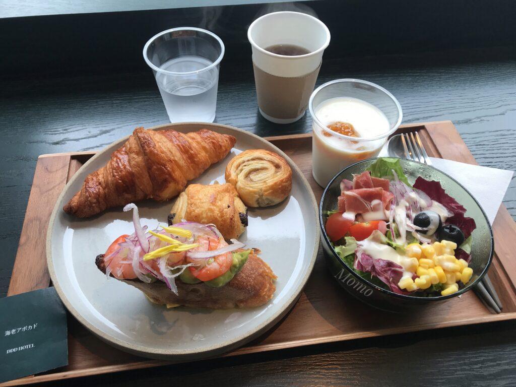 DDDホテル 朝食 メニュー
