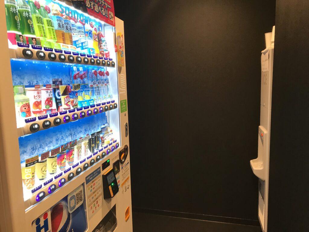 トーセイホテルココネ上野御徒町 自動販売機