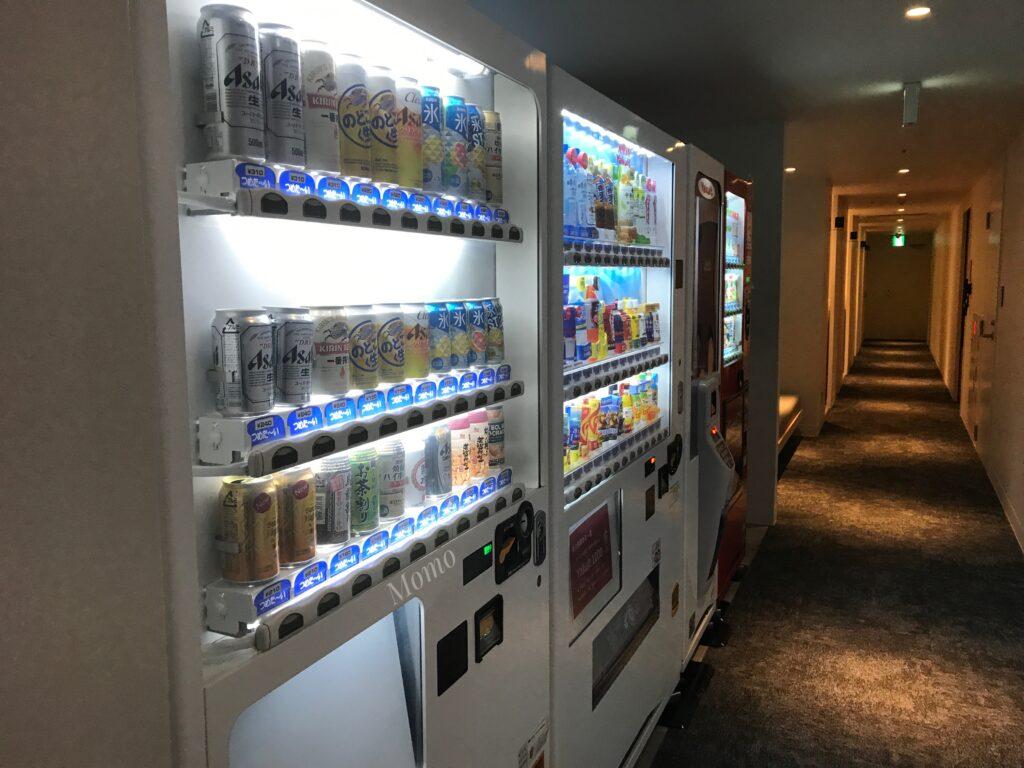 レフ大宮 自動販売機