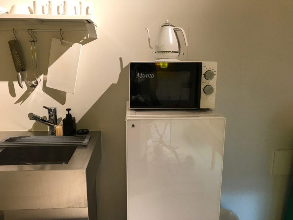 Bna studio akihabara 電子レンジ 冷蔵庫