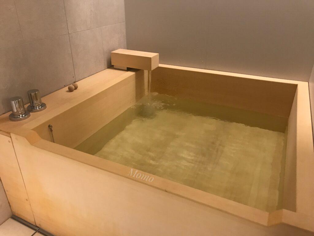 檜風呂 ホテル 築地 ブログ