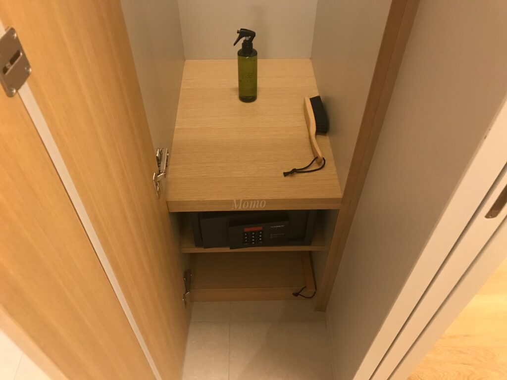 TSUKI ホテル 東京 ブログ セーフティーボックス