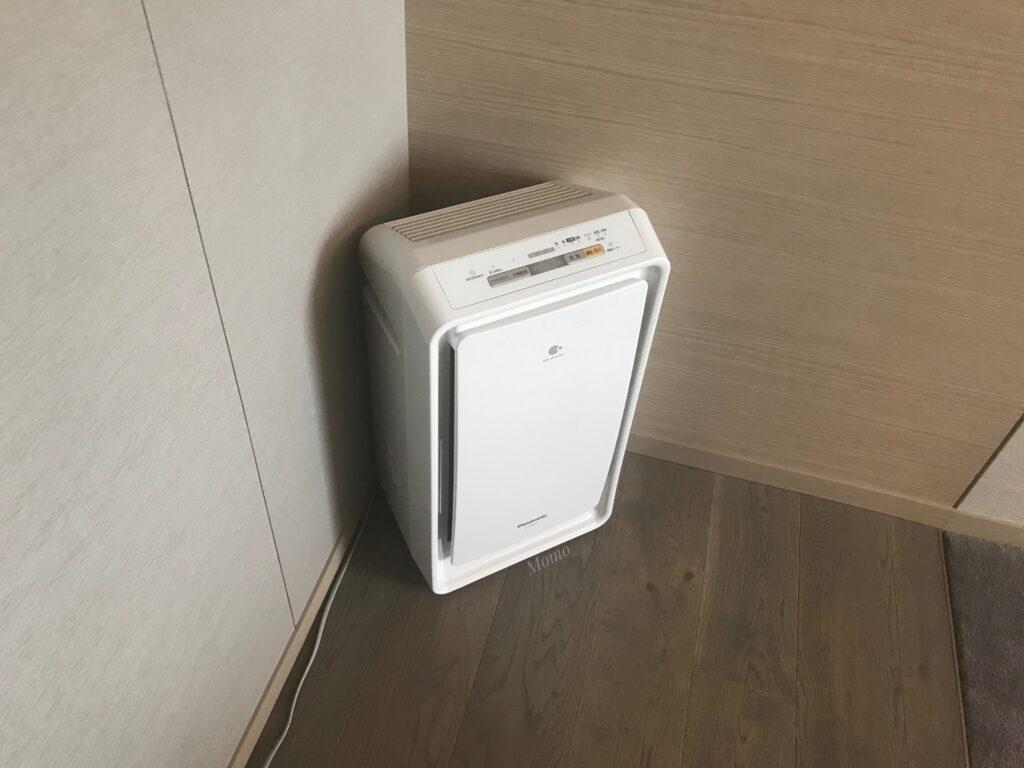 フレイザースイート赤坂東京 空気清浄機
