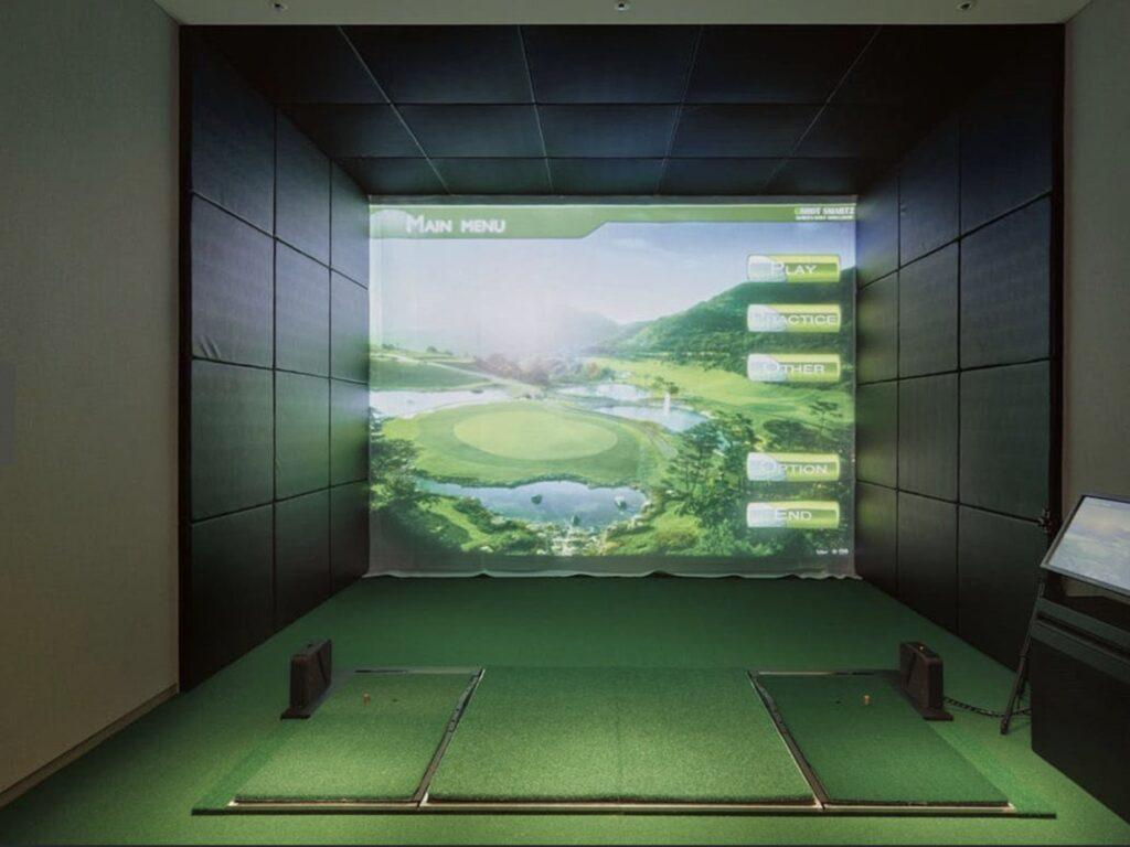 赤坂 ホテル ゴルフシュミレーター