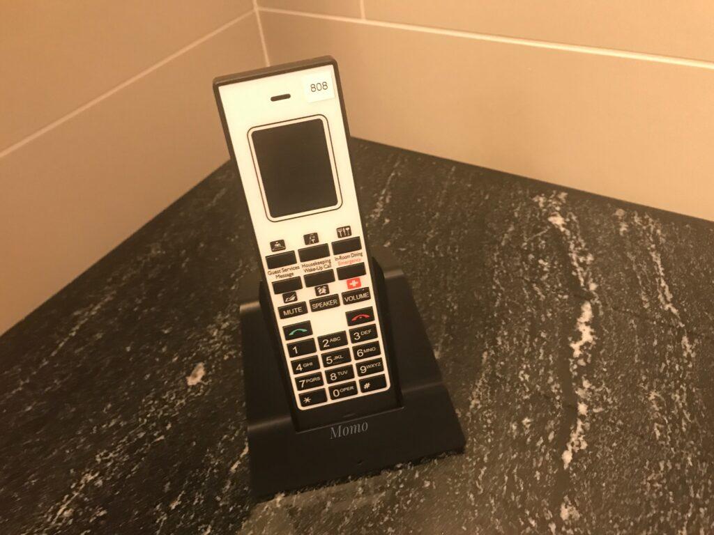 フレイザースイート 浴室 電話